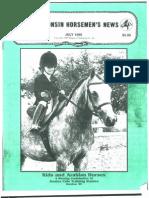 Wisconsin Horsemen's News July 1999
