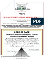 Conspiracy] Who Are the Intelligence Agencies Really