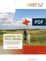 L4WB a Policy Priority for Children & Youth in Europe