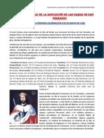 HISTORIA DE LA ASOCIACIÓN DE LAS DAMAS DE SAN FERNANDO