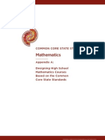 Model Course Pathways in Mathematics