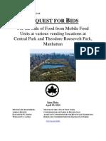 Central Park Food Concession RFP 2012