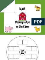 Farm Math Thinking Maps