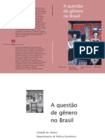A questão do gênero no Brasil