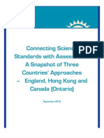 Connecting Science Standards with Assessment