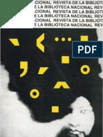 Revista Biblioteca Nacional n25 1987