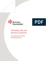 Permitting Jobs and Business Investment