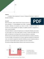 Plano de aula - Elevador Hidráulico