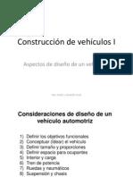 CVI 02 Consideraciones de Diseño de un vehículo