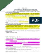Ley Nº 25456 - Luces Bajas