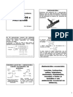 AULA 2 - AMINO+üCIDOS 2012 [Modo de Compatibilidade]
