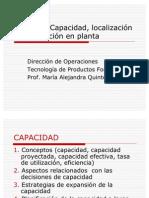 52661227 Capacidad Instalada de Produccion Localizacion y Distribucion