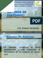 METODOS DE PASTOREO