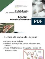 Produção e Industrialização da Cana-de-açúcar