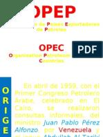 Presentación petroleo opep