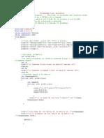 programa utilizando arreglos # 21