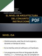 El Nivel de Arquitectura Del Conjunto de Instrucciones