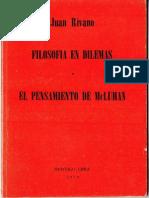 Filosofía en Dilemas y El Pensamiento de McLuhan