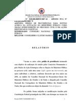 CNMP - Atuação do MP em Proc. Cíveis (Voto 935-2007)