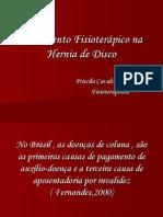 Tratamento Fisioterápico na Hernia de Disco
