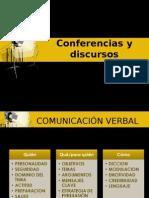 conferencias y discursos