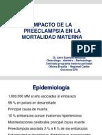 Impacto de La Preeclampsia en La Mortal Id Ad Materna