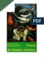 54614398 Jose Carlos Mariategui Temas de Nuestra America