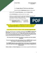ASB 222 -Spring 2012 Exam #2 Review_studentversion