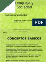 Lenguaje y Sociedad - Conceptos Basicos