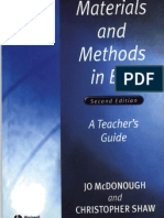 Materials and Methods in ELT