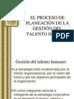 Planeación del talento humano-GTH1