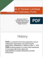 Business Rule of Yayasan Lembaga Konsumen Indonesia