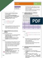 Ringkasan Materi Matematika Sd Unas Fix