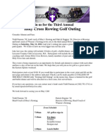 Rowing Golf Brochure - 2012