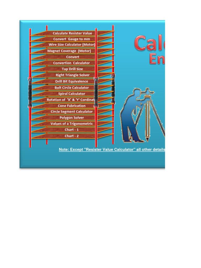 Calculators Engg | Trigonometric Functions | Geometry