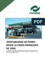 ad Des Pemex Desde La Crisis Financier A de 1994