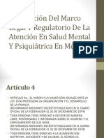 Descripción Del Marco Legal Y Regulatorio De La