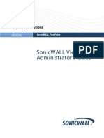 SonicWALL ViewPoint 6 0 Admin Guide