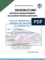 Plan de Mkt de Trasnporte El Dorado