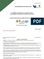 CONTENIDO Sistemas Operativos ISC