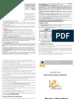Normas Operativas Media 2012