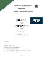 M03027 - Silabo  Internado - 2009