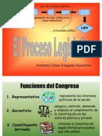 CDG - El proceso legislativo ordinario en el Perú