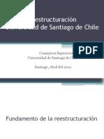 Reestructuración de la USACH