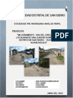 Pip Vias San Isidro