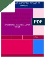 DIAGNÓSTICO DE SALUD DE LA COMUNIDAD DE EL LUCERO