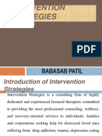 Intervention Strategies PPT BEC BAGALKOT MBA