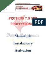 Proteus 7.8 Manual de Instalacion y Activacion