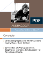 Presentación Andragogía Ricaño