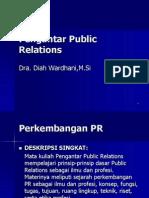 PPR 1 - Sejarah & Perkembangan PR